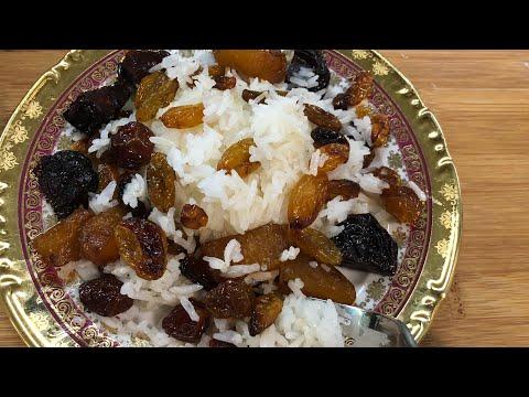 Праздничный Пасхальный плов с сухофруктами и изюмом | Չամիչով  Փլավ | Rice With Raisins
