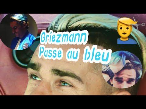 Griezmann se teint en bleu après son mariage