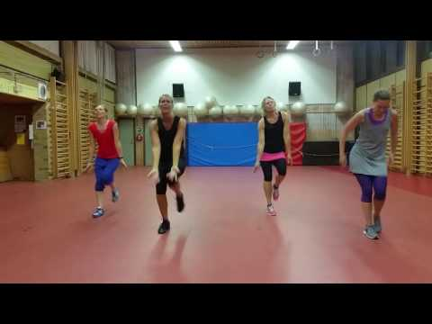 Zumba warm up - Can't stop the feeling by Justin Timberlake