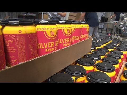 Silver Reef Brewing Company Cans First Beer