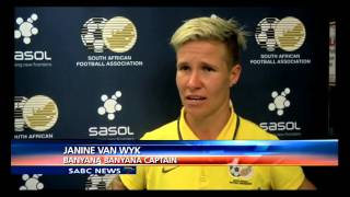 Banyana Banyana to be part of the  Olympic games in Rio