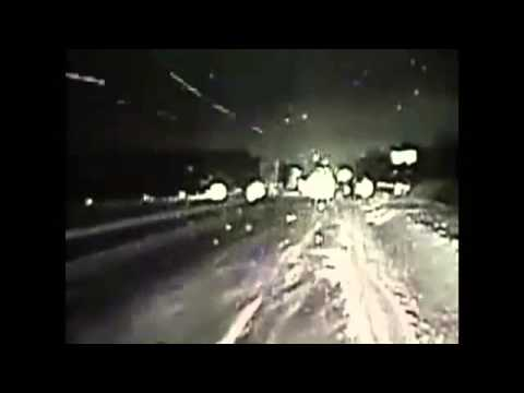 CAUGHT ON CAM: Dashcam Video Shows Sliding Semi Crash Into Two Minnesota Police Cars