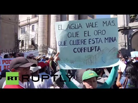 Peru: Hundreds rally in Arequipa in support of anti-mining s