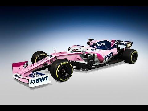 SportPesa Racing Point F1 Team Reveal