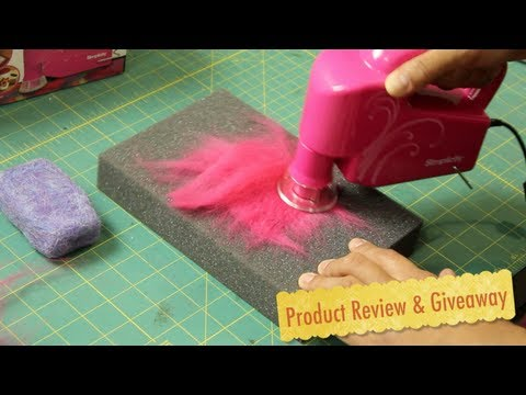 Simplicity S Electric Hand Felting Machine Product Review