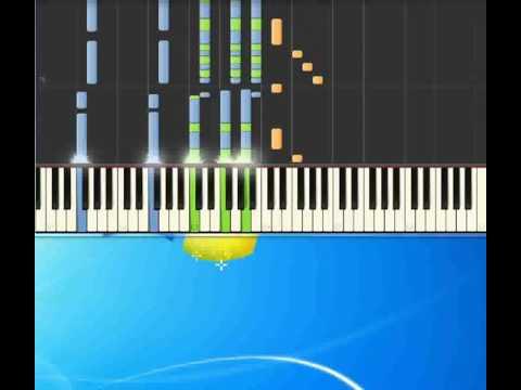 Anima fragile   Rossi Vasco [Piano tutorial by Synthesia]