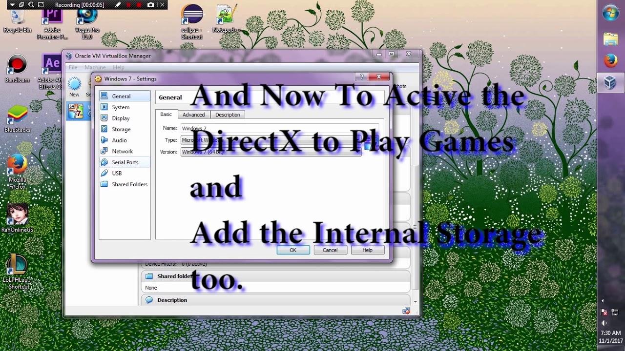Virtualbox Quick install tutorial for Gaming