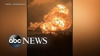 Refinery explosion rocks Philadelphia