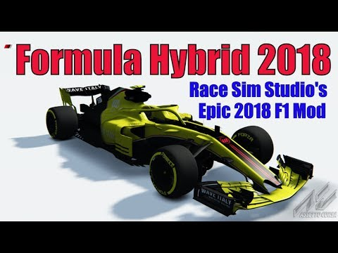 Formula Hybrid (F1 Mod) 2018 First Drive at Nurburgring (Assetto Corsa VR Gameplay and Replay)