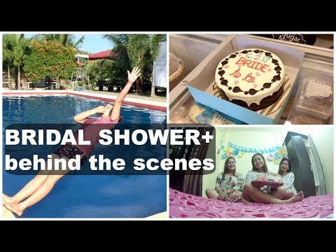BRIDAL SHOWER + Behind the scenes | ririVlog