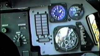 f-14 pilots flight footage with radio chatter