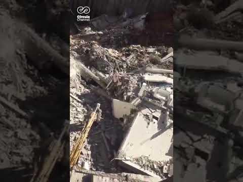 Reportan por lo menos 10 personas atrapadas en un derrumbe en Monterrey