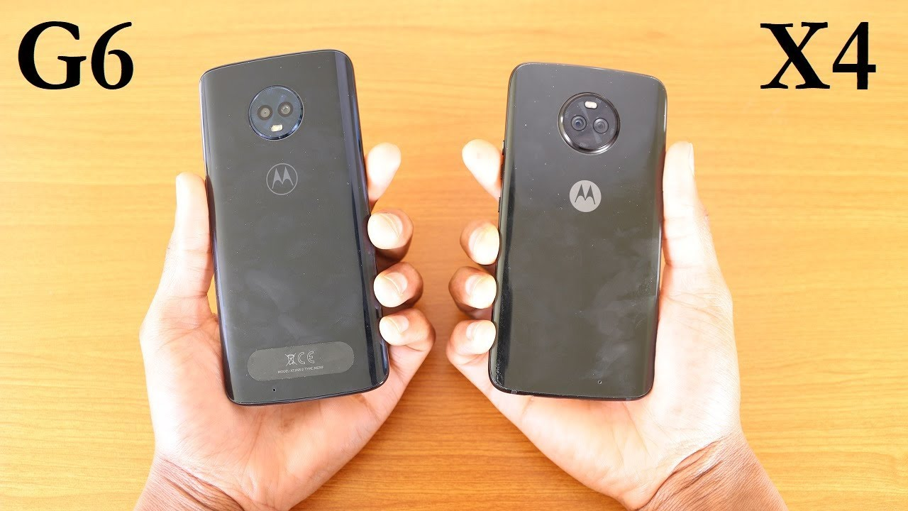 Motorola Moto G6 Vs Moto X4 Speed Test - YouTube