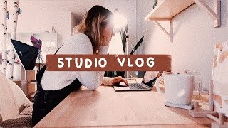 VLOG 15 | New Studio Tour, Working Less & Packing Orders