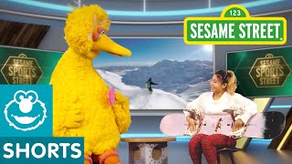 Sesame Street: S is for Sports with Chloe Kim and Big Bird