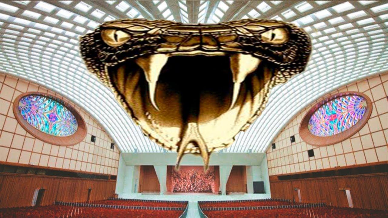 ¿La Serpiente del Vaticano Oculta a la Vista de Todos?