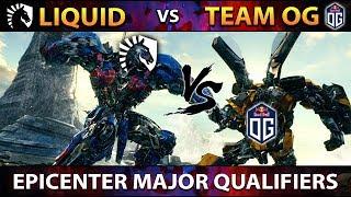 TI7 vs TI8 Winners LIQUID vs OG - EPIC Series - EPICENTER Major Qualifiers - Dota 2