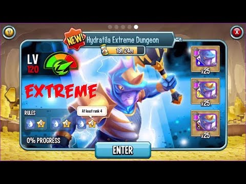 🌑 Monster Legends - Nemesis Hydratila Extreme Dungeon get cell Icebringer Boltcaster Riftmaker