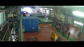 افتتاح الرئيس السيسي لمصنع حديد المصريين ببني سويف