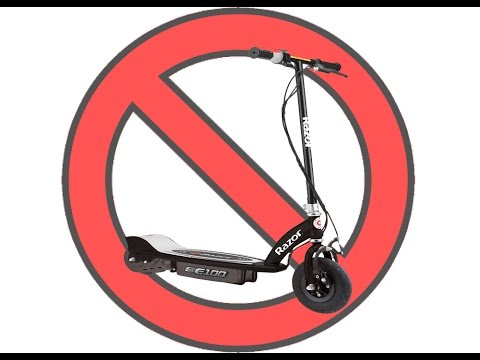 Do NOT Buy Razor E100 Electric Scooter Until You See This!
