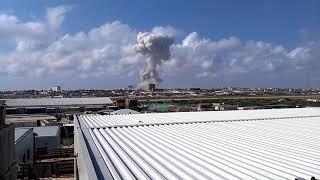 Somalia. Bomb attack in Mogadishu 14-10-2017 part.1