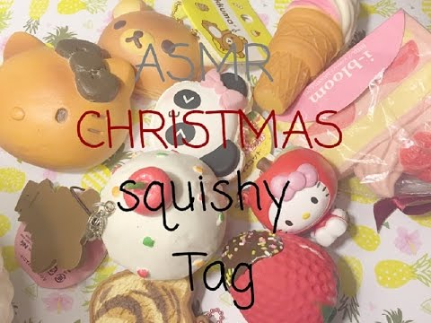 ASMR Christmas Squishy Tag NineyCrafts - YouTube