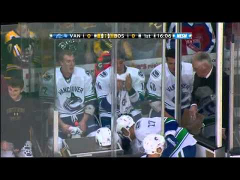 Bruins Vs Canucks Brawl - 01/07/2012