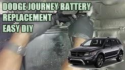 Dodge journey battery replacement