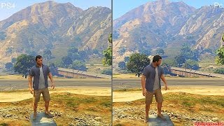 GTA 5 Pc Vs PS4 Graphics Comparison