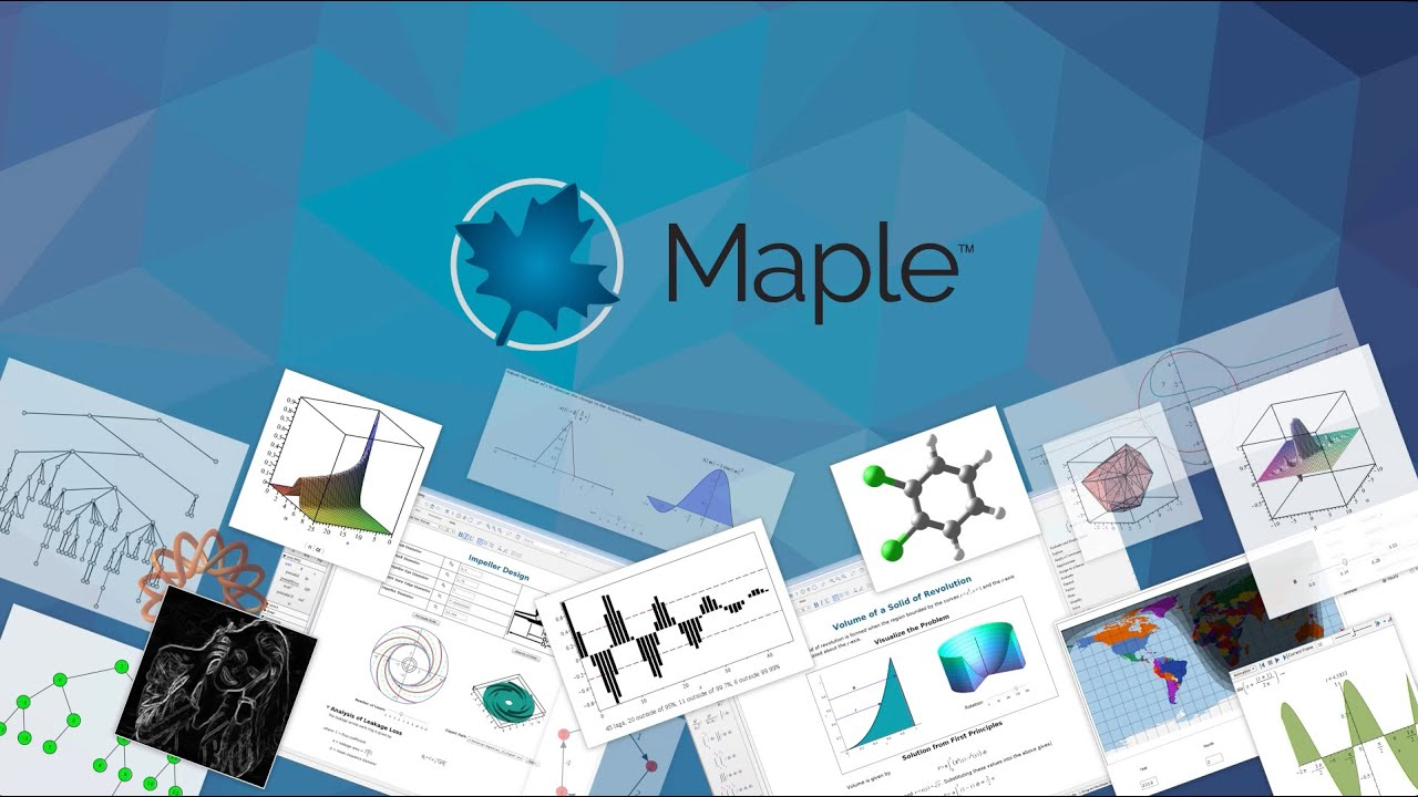 New Features in Maple 2019 - Technical Computing Software for