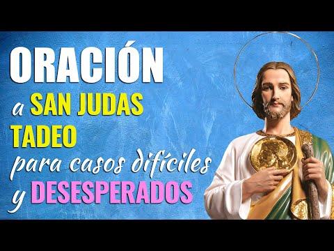 🙏 Oración a San Judas Tadeo para CASOS DIFÍCILES Y DESESPERADOS 🙇♀️
