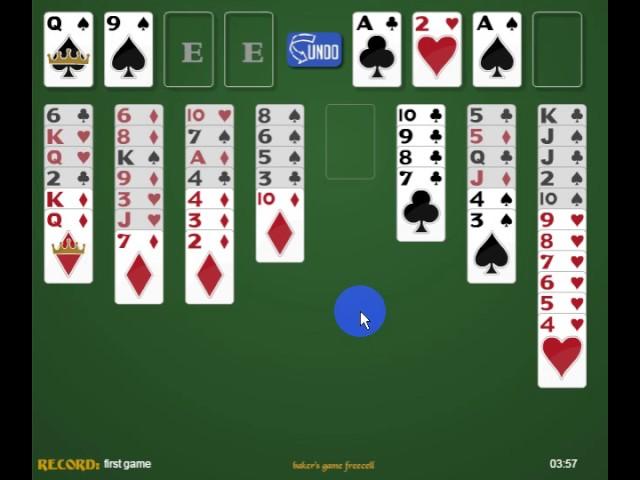 Играть в карты онлайн солитере как играть в карты в козла 24 карты
