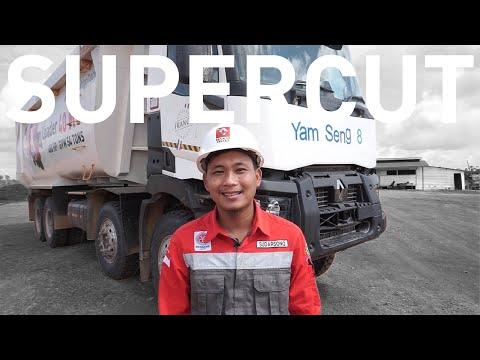 SUPERCUT | RENAULT Trucks K460 P8x4 Walkaround Indonesia (Mining Solution by PT Indo Traktor Utama)