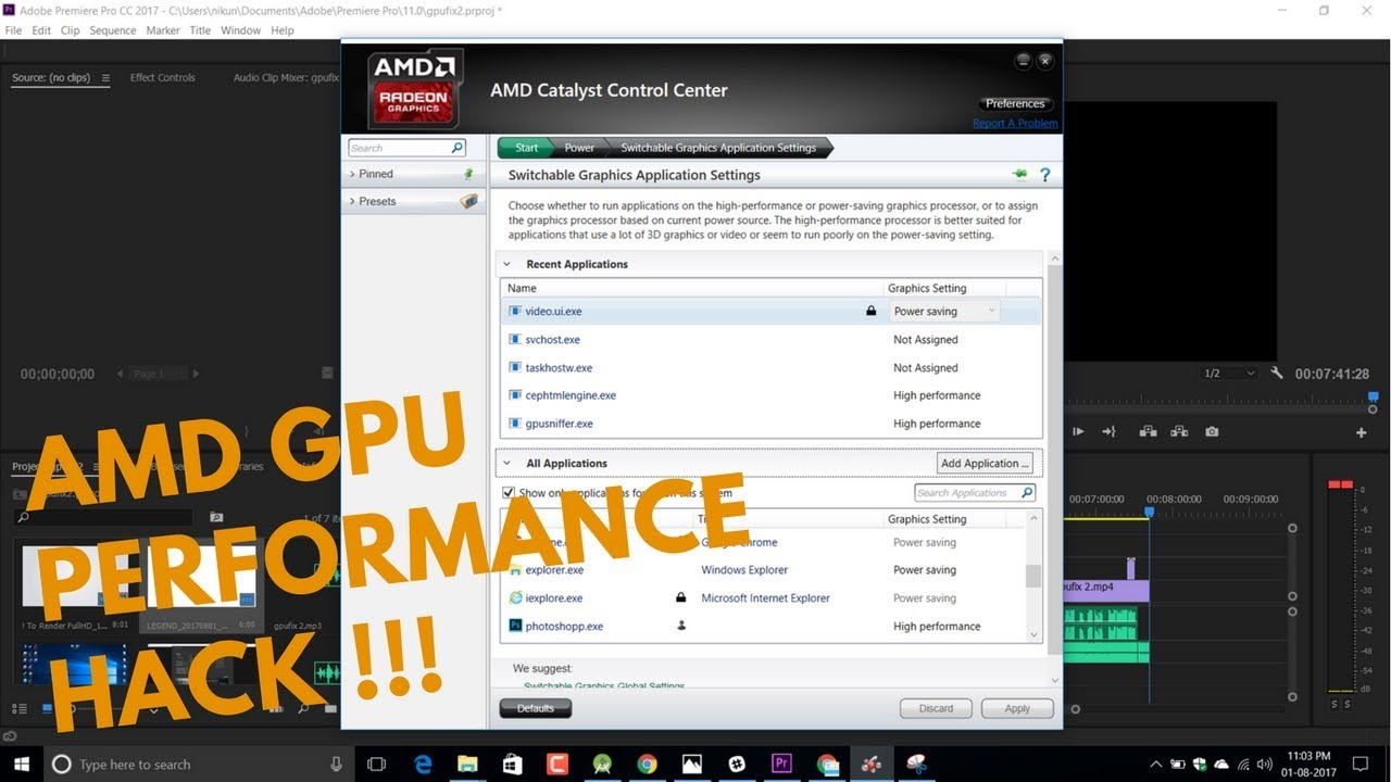 amd catalyst control centre wont open