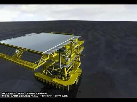 Offshore Platform - 3D Model