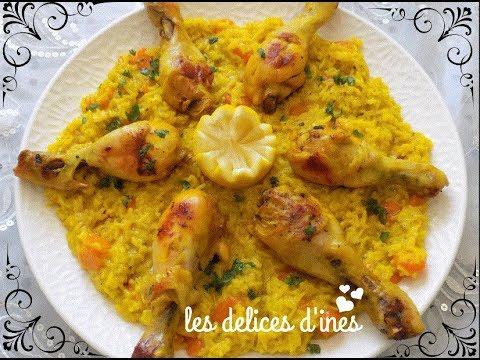 recette-economique-facile-rapide😍-recette-riz-poulet-/-easy-recipe