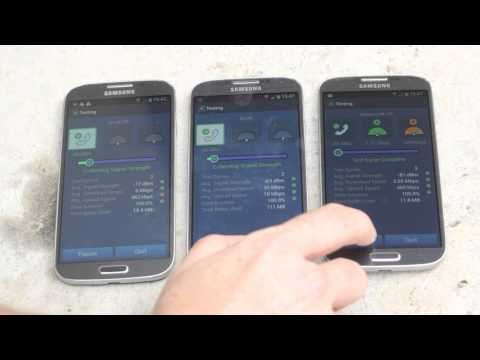 4G EE, Vodafone, O2 speed test in London