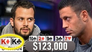 Ryan Fee Gets KK In A $123,000 Poker Pot