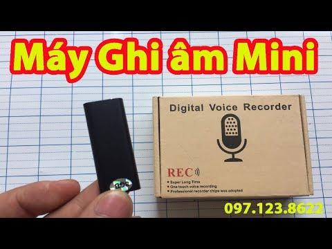 Máy Ghi âm Mini Siêu Nhỏ DVR31 NHỎ NHẤT HÀNH TINH | Mua Máy Ghi âm ở đâu | Cách Dùng Máy Ghi âm