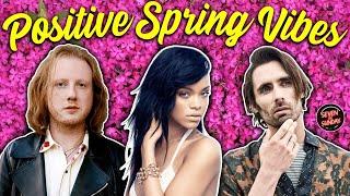 7 RADIANT SPRING SONGS FOR POSITIVITY