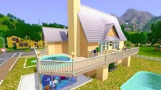 Sims 3 дом «Аквариус»