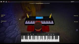 History - Head in the Clouds by: Rich Brian on a ROBLOX piano.