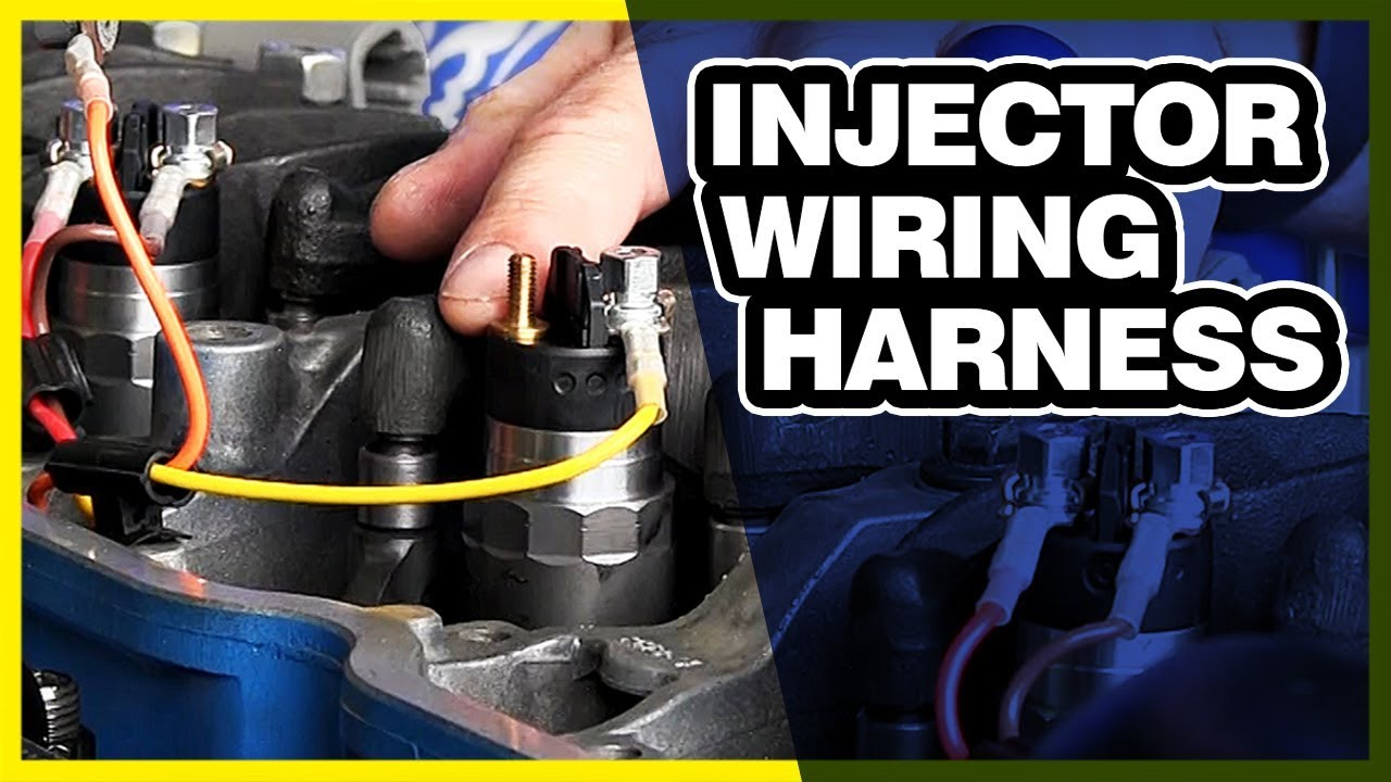 how to tighten an injector wiring harness | common rail injectors