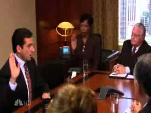 The Office - The Deposition - Yesh