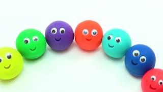 Большой урок учим цвета Обучающее видео для малышей