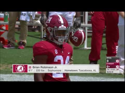 NCAAF 2018 Alabama Spring Game