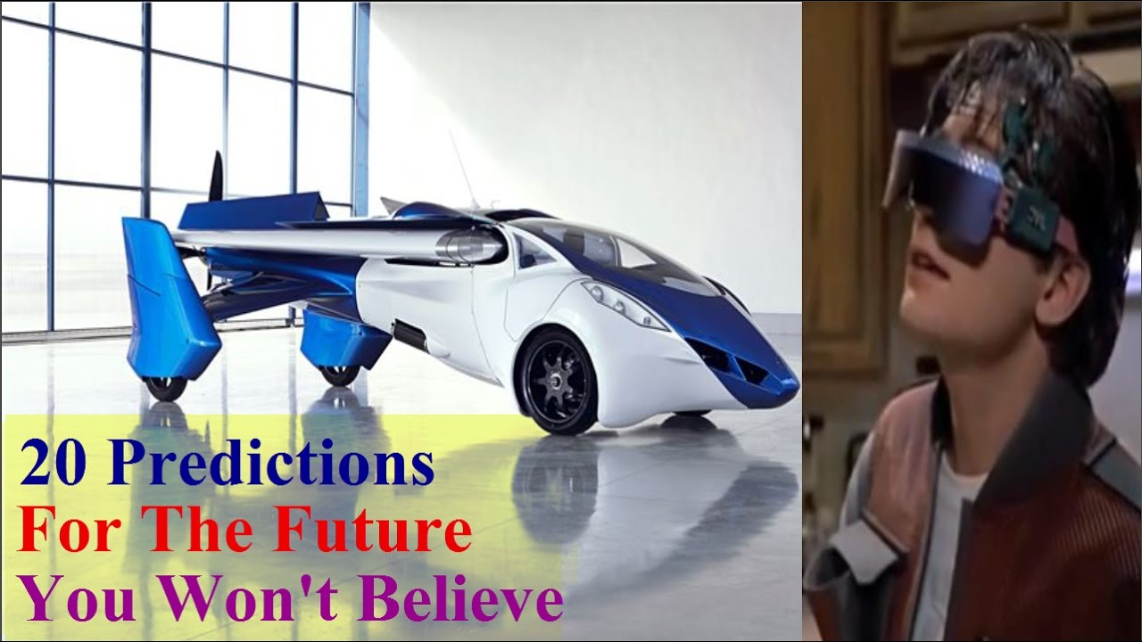 Download 20 Predictions For The Future You Won't Believe | Back To The Future Predictions