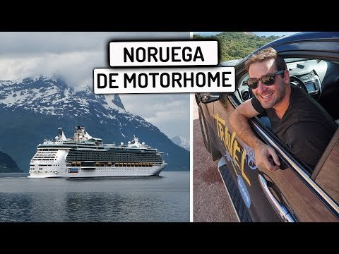 DIRIGINDO MEU CARRO NUM BARCO para Noruega | Travel and Share | Romulo e Mirella