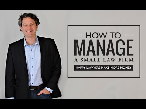 How to hire the right firm administrator.