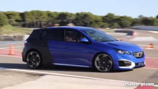 Peugeot 308 R Hybrid : Acceleration et Son moteur | Planete-gt.com